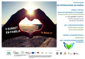 Cartaz Comemoração Dia Internacional da Família 2017