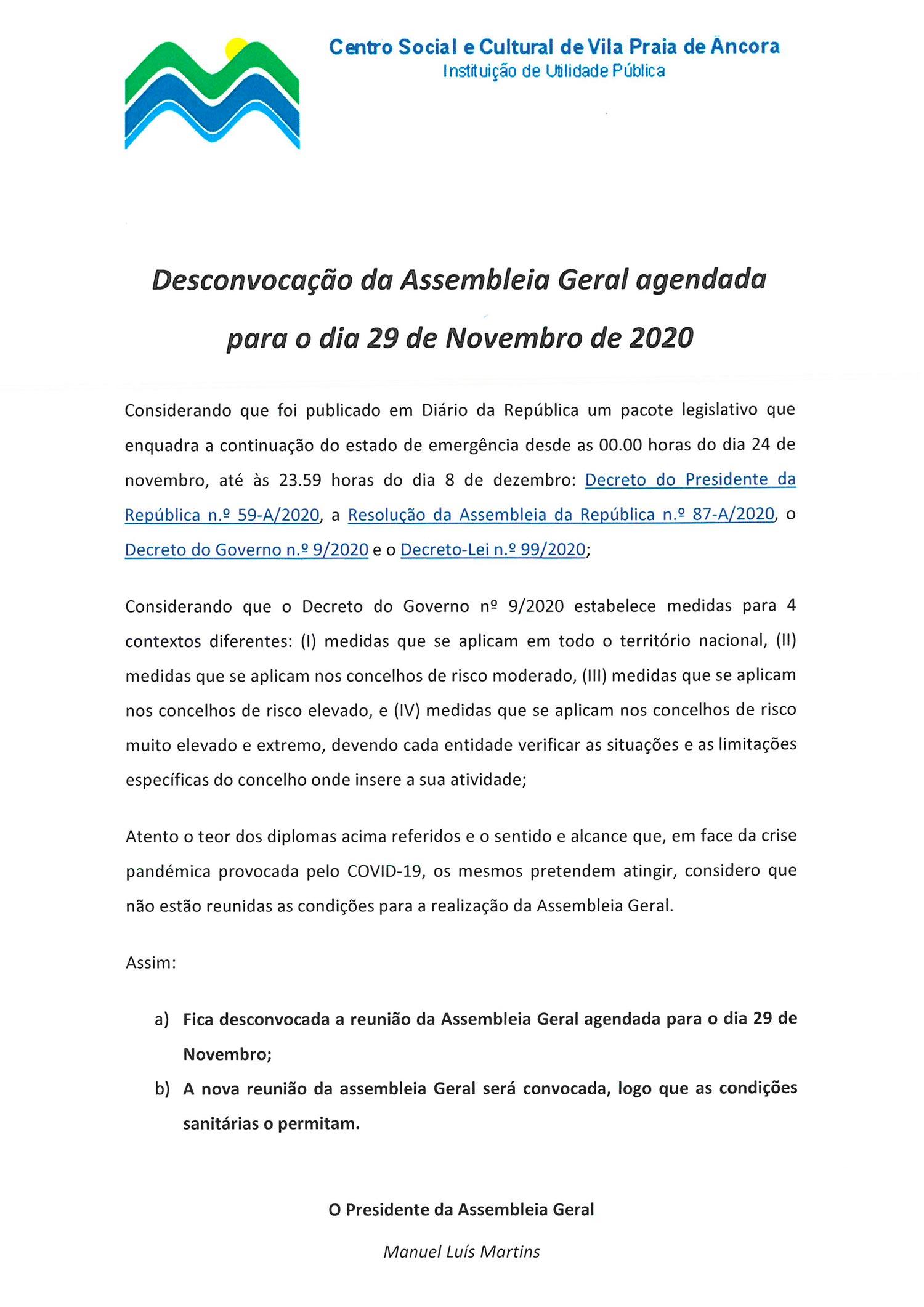 SCSCVPA-desconvocação-assembleia-centro-social-cultural-vila-praia-ancora-2020
